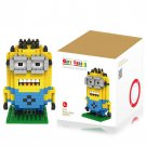 260Pcs Minion Building Block Creative ABS Material Kid Toy M - 9161
