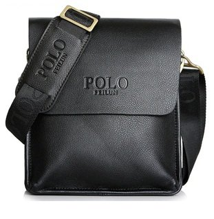 Casual PU Purity Star-magazine-style Bag Business Bag For Men