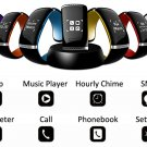 Smart LED Watch Bluetooth 3.0 Call Answer SMS Reminding Music Player
