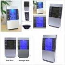 LCD Digital Indoor Outdoor Weather Thermometer Humidity Meter Hygrometer Alarm