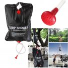Portable 20L Solar Self Heating Camping Shower PVC Bag Water Sun Outdoor Hiking