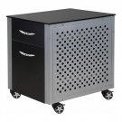 PitStop Furniture FC230B File Cabinet (Black)