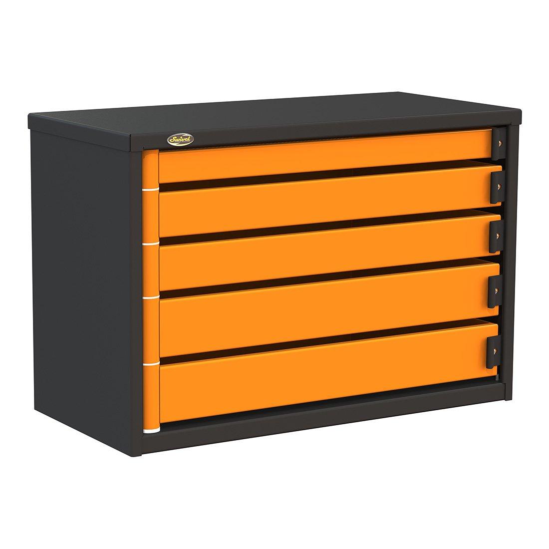 Swivel PRO362405 5-Drawer 36-Inch Service Tool Box