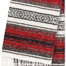 Genuine Mexican Falsa Blanket Yoga Studio Colorful Soft Woven Serape Mexico Thro