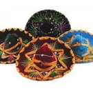 Wholesale Sombrero Lot 12 Mini Charro Hats Fiesta Decorations Party Resale Pack