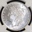 1878 7/8 Tail Feathers Strong VAM 38 5 Tailfeathers MS 62 Morgan Silver Dollar