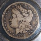 1895 S Key Date Very Good 10 Morgan Silver Dollar