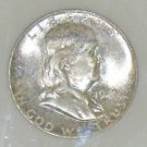 1949-S MS 65 Certified Full Bell Line Franklin Silver Half Dollar