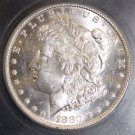 1880 O VAM 6A MS 63 Top 100 8/7 Spike Clashed Die Brilliant Morgan Silver Dollar