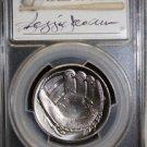 2014 D Autographed Reggie Jackson Hall of Fame MS 70 Commemorative Half Dollar