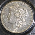 1878 CC VAM 24 PCGS Almost Uncirculated Doubled Leaves Morgan Silver Dollar AU50