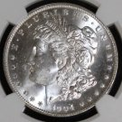 1904 O MS 66 NGC Well Struck Frosted Morgan Silver Dollar