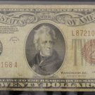1934 A Fr 2305 Fine WW II Hawaii Twenty Dollar Federal Reserve Note