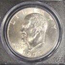 1977 D PCGS Gem brilliant MS 65 Eisenhower Dollar