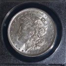 1882 O over S VAM 4 Top 100 Recessed S AU 58 Morgan Silver Dollar
