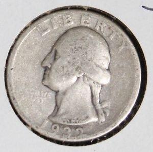 1932  D key Date Very Good Plus Washington Quarter