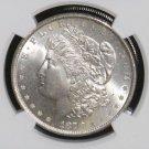 1878 Eight Tail Feathers VAM 14.1A Alligator Eye w/Clash MS 63 NGC Morgan Dollar