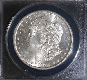 1882 CC MS 63 Choice Brilliant Carson City Morgan Silver Dollar