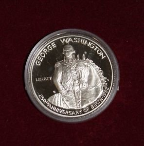 1982 Deep Mirror Proof George Washington Commemorative 90% Silver Half Dollar