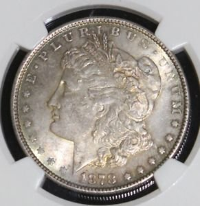 1878 MS 63 Eight Tail Feather VAM 12 Doubled Obv & Rev NGC Morgan Silver Dollar