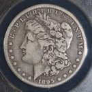 1895 O Scarce Date Very Fine  20 Morgan Silver Dollar