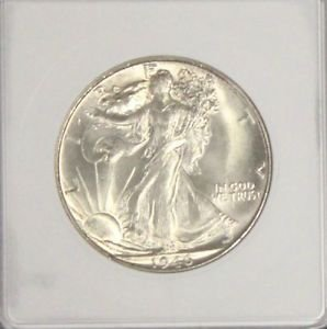 1946 S MS 65 Gem Brilliant Walking Liberty Silver Half Dollar