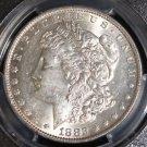 1882 O PCGS AU 55 Top 100 VAM 7 O over O Morgan Silver Dollar