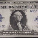 1923 Fr 237 One Dollar Silver Certificate PCGS 58 PPQ Choice About New