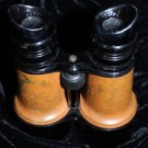 1900's Vintage French Military Chevalier Army Navy Day Night Leather Binoculars