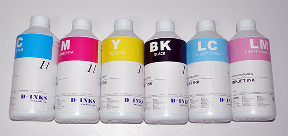 Dye Sublimation Ink For Epson 6 Color Printers