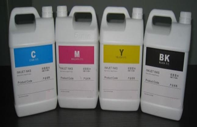 Ceramic Ink For Digital Inkjet Printers  5 Colors