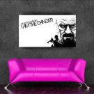 "best selling Breaking bad poster sticker for walls decor 90x50cm 36""x20"" Gift"