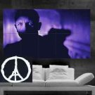 James Bond POSTER print set 007 Daniel Craig Purple Blue art 10 parts print wall