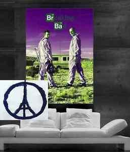 Breaking bad Poster print wall art big parts 9 PARTS Christmas Heisenberd Gifts