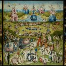Bosch (1490) Garden Earthly Delights Handmade 4X3 Giclee Art Print Picture Sew on Patches FREE S/h