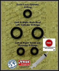 96-04 Mercedes SLK 230 Convertible Top Hydraulic Cylinder Repair Kit R170