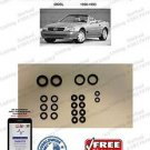 90-93 Mercedes 500SL Hydraulic Cylinder Repair Seals for Convertible Top...R129