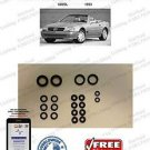 93-93 Mercedes 600SL Hydraulic Cylinder Repair Seals for Convertible Top...R129