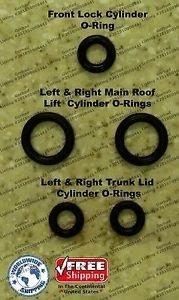 96 - 04 Mercedes SLK 230 320 Convertible Top Hydraulic Cylinder Repair Kit R170