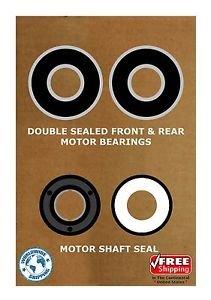Pool & Spa Motor Bearing Kit & Shaft Seal USQ1102 USQ1152 UST1102 UST1152 K101