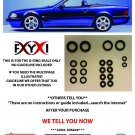 Mercedes SL500 SL320 500SL Convertible Top Hydraulic Cylinder Repair Seals..R129