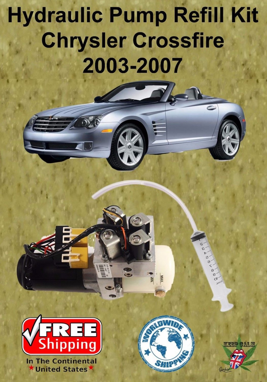 2003 2008 Chrysler Crossfire Convertible Hydraulic Pump