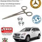 06-11 Mercedes-Benz GL-Class  Door Lock Actuator Repair Kit X164 4 Springs