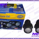 Hella Micro De Foglight Brand New Set Fog Lamp Lights INCL. Mounting Brackets