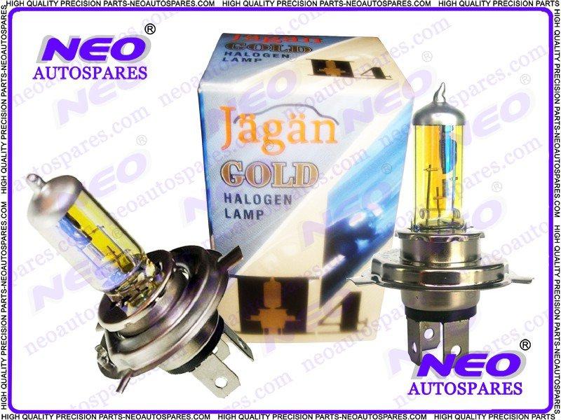 2x 24 Volt H4 Xenon Rainbow HQ Headlight Bulbs 100/90 Watt P43T Halogen Lamp