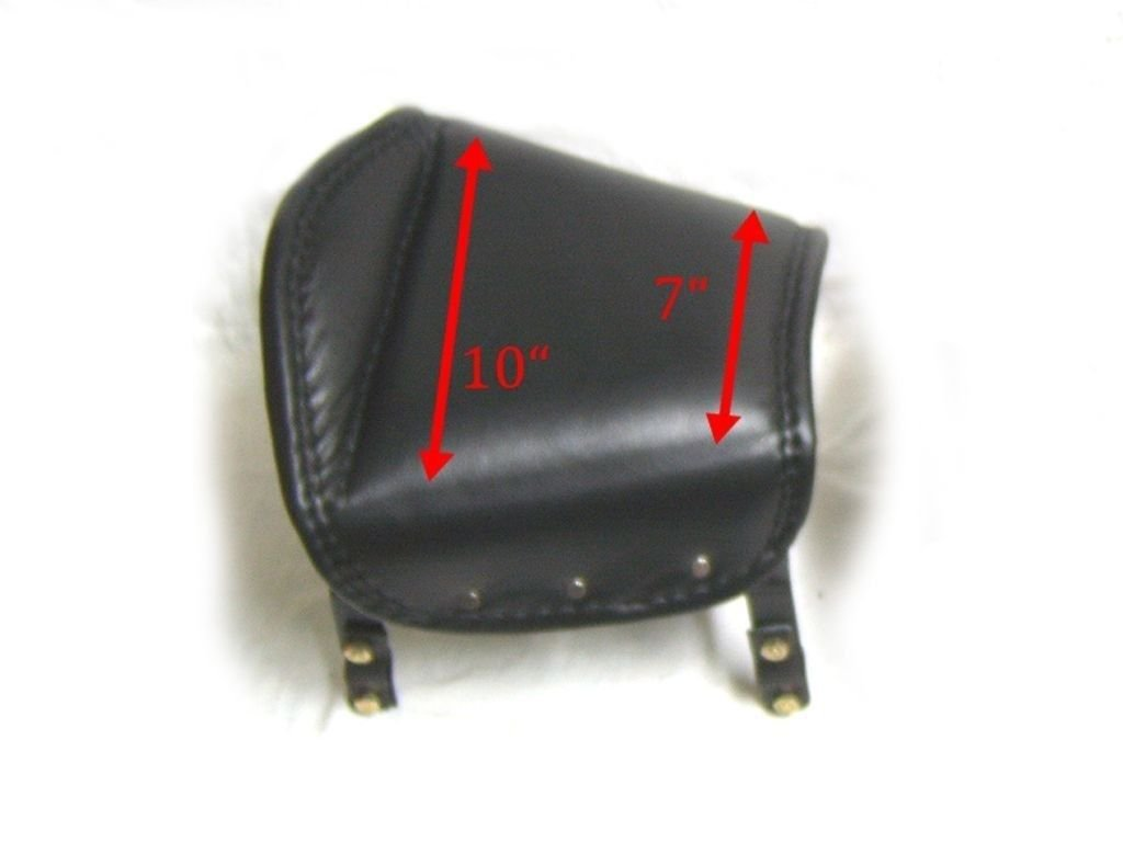 Brand New Sprung Pillion Seat Leather 1950s Fits Royal Enfield