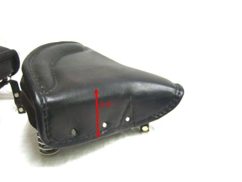 Brand New Sprung Front & Pillion Seat 1950s Fits Royal Enfield