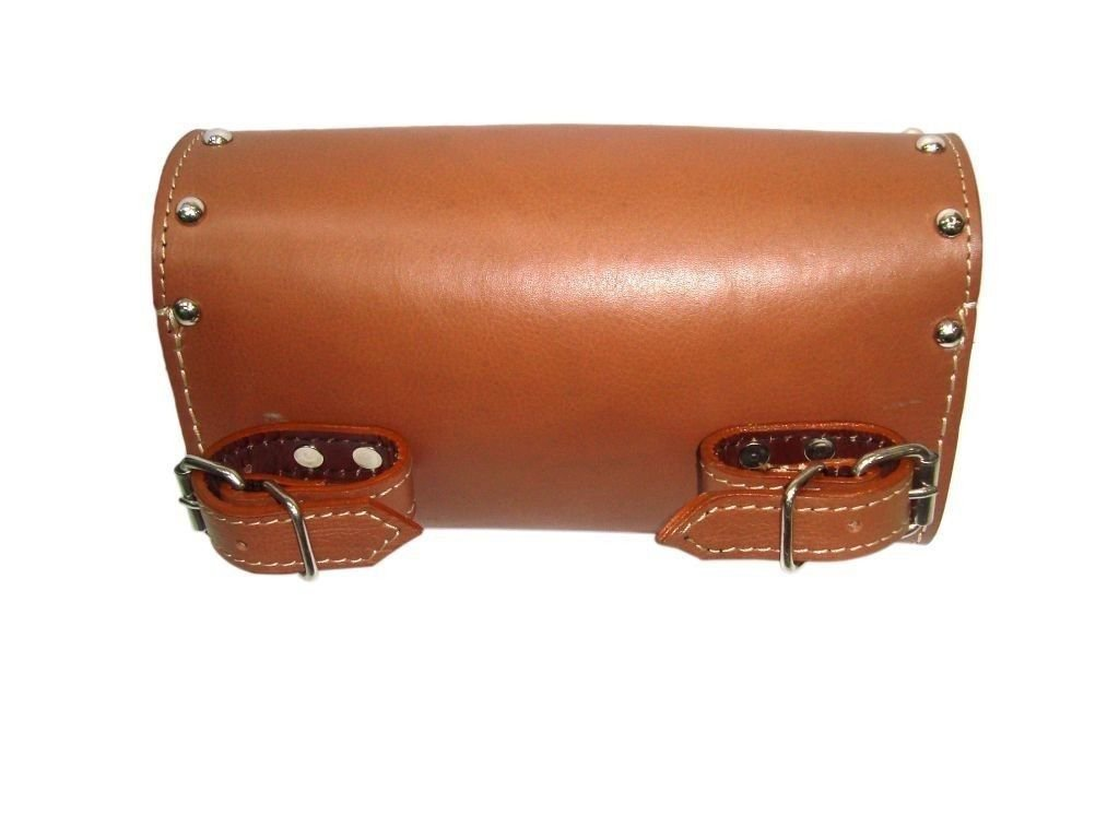 Brand New Leatherl Handcrafted Cruiser Tool Bag Fits Motorcycle