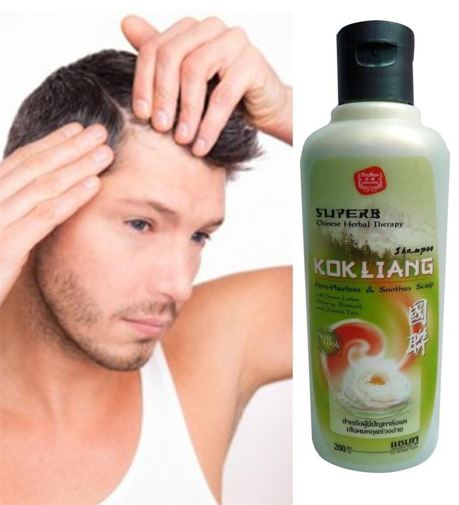 KOK LIANG HERBAL SHAMPOO 200 ML.