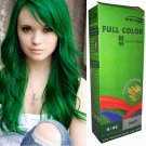 Premium Permanent Hair Colour Cream Dye Goth Cosplay Emo Punk 0/22 GREEN
